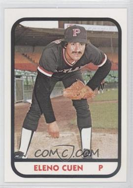 1981 TCMA Minor League #898 - Eleno Cuen
