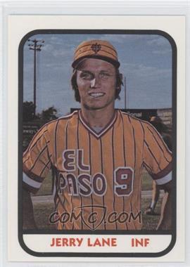 1981 TCMA Minor League #906 - Jerry Lane