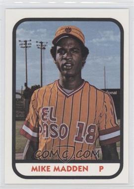 1981 TCMA Minor League #913 - Mike Madden