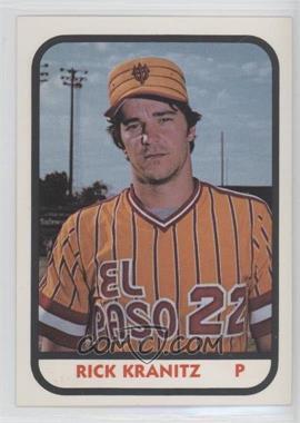 1981 TCMA Minor League #916 - Rick Kranitz