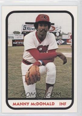 1981 TCMA Minor League #987 - Manuel McDonald