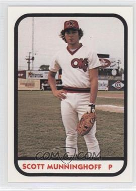 1981 TCMA Minor League #988 - Scott Munninghoff