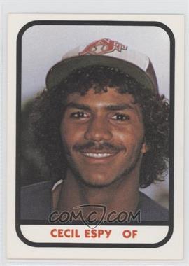 1981 TCMA Minor League #CEES - Cecil Espy