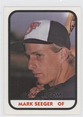 1981 TCMA Minor League #MASE - Mark Seeger