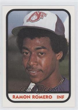 1981 TCMA Minor League #RARO - Ramon Romero