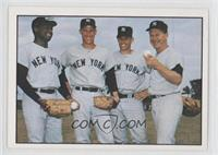 Al Downing, Mel Stottlemyre, Fritz Peterson, Whitey Ford