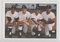 Joe Pepitone, Clete Boyer, Tony Kubek, Bobby Richardson