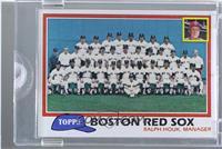 Team Checklist - Boston Red Sox /1 [ENCASED]