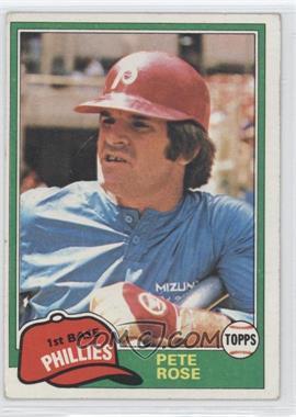 1981 Topps - [Base] #180 - Pete Rose