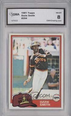 1981 Topps - [Base] #254 - Ozzie Smith [ENCASED]
