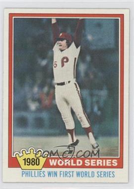 1981 Topps - [Base] #404 - Philadelphia Phillies Team