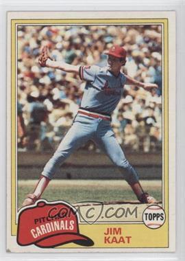 1981 Topps - [Base] #563 - Jim Kaat