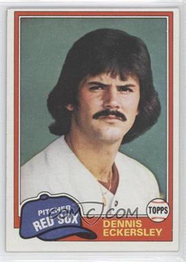 1981 Topps - [Base] #620 - Dennis Eckersley