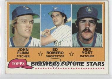 1981 Topps - [Base] #659 - John Flinn, Ed Romero, Ned Yost