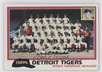Team Checklist - Detroit Tigers