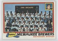 Team Checklist - Milwaukee Brewers