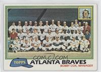 Team Checklist - Atlanta Braves