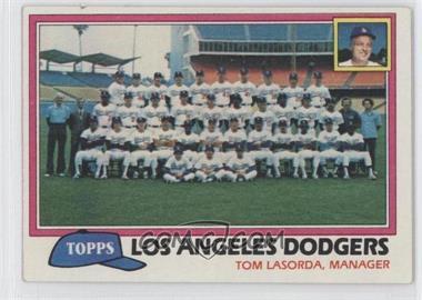 1981 Topps - [Base] #679 - Los Angeles Dodgers Team Checklist (Tom Lasorda, Manager)