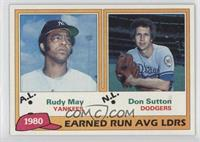 Rudy May, Don Sutton