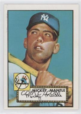 1981 Topps 1952 Reprint Series #311 - Mickey Mantle