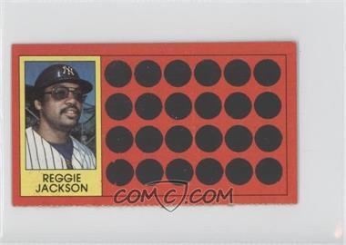 1981 Topps Baseball Scratch-Off - [Base] - Separated #3 - Reggie Jackson