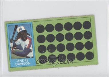1981 Topps Baseball Scratch-Off - [Base] - Separated #90 - Andre Dawson