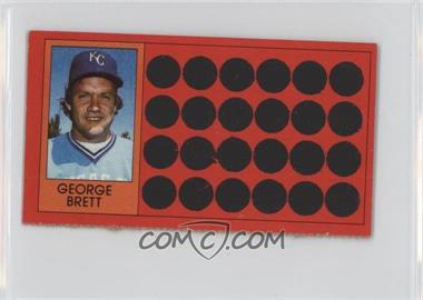 1981 Topps Baseball Scratch-Off Separated #1 - George Brett
