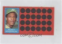 Rickey Henderson (Topps Super Sports Card Locker)