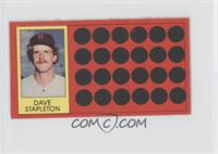 Dave Stapleton (Topps Super Sports Card Locker)