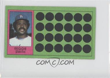 1981 Topps Baseball Scratch-Off Separated #57 - Reggie Smith