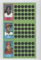 Dusty Baker, Terry Puhl, Tom Seaver