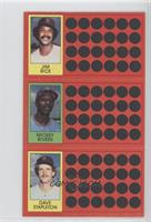 Jim Rice, Mickey Rivers, Dave Stapleton
