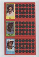 Jim Rice, Mickey Rivers, Steve Stone