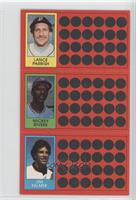 Mickey Rivers, Jim Palmer, Lance Parrish
