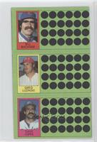 Bill Buckner, Greg Luzinski, Davey Lopes