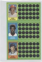 Cesar Cedeno, John Stearns, Mike Schmidt, Houston Astros