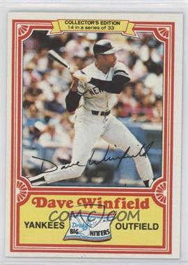 1981 Topps Drake's Big Hitters - [Base] #14 - Dave Winfield