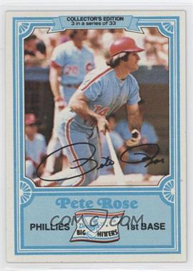 1981 Topps Drake's Big Hitters - [Base] #3 - Pete Rose