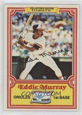 1981 Topps Drake's Big Hitters - [Base] #6 - Eddie Murray