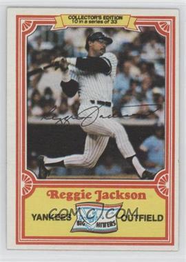 1981 Topps Drake's Big Hitters #10 - Reggie Jackson