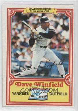 1981 Topps Drake's Big Hitters #14 - Dave Winfield