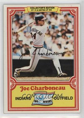 1981 Topps Drake's Big Hitters #21 - Joe Charboneau