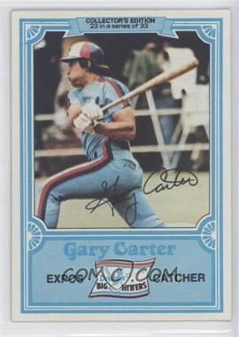 1981 Topps Drake's Big Hitters #23 - Gary Carter