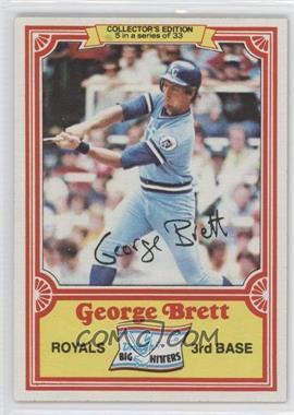 1981 Topps Drake's Big Hitters #5 - George Brett
