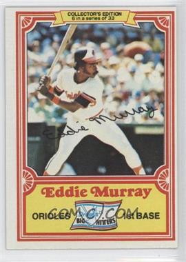 1981 Topps Drake's Big Hitters #6 - Eddie Murray