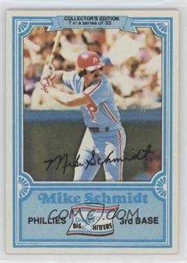 1981 Topps Drake's Big Hitters #7 - Mike Schmidt