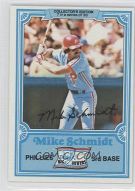 1981 Topps Drake's Big Hitters #7 - Mike Schmidt