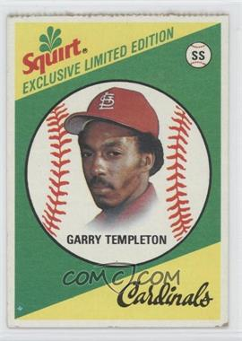 1981 Topps Squirt Exclusive Limited Edition - Food Issue [Base] #12 - Garry Templeton