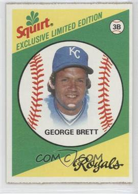 1981 Topps Squirt Exclusive Limited Edition Food Issue [Base] #1 - George Brett
