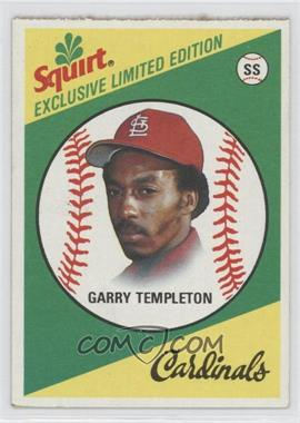 1981 Topps Squirt Exclusive Limited Edition Food Issue [Base] #12 - Garry Templeton